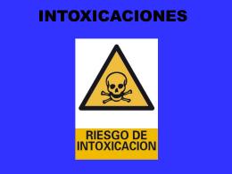 Intoxicacioness