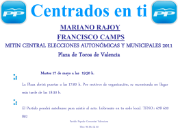 MITIN CENTRAL ELECCIONES