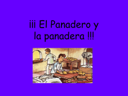El Panadero !!!