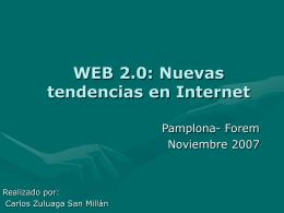 Qué es Web 2.0?