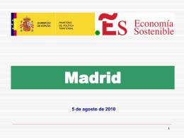 Datos de Fondos Locales en Madrid