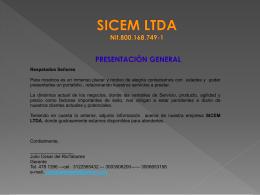 SICEM LTDA Nit.800.168.749-1