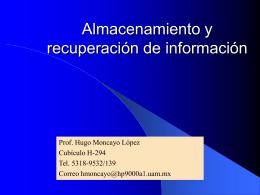 Programación de Archivos - Maestría en Ciencias de la Computación