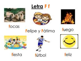 Letra F f