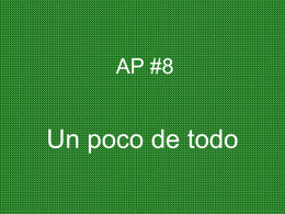 AP #8