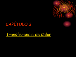TERMO2005 CAP3 – Transferencia de Calor