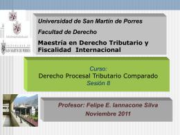 Procedimientos Tributarios - Sesion 8