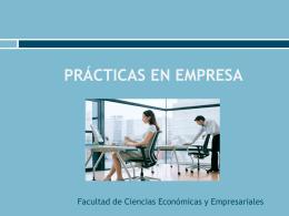 prácticas en empresa - Universidad de Cádiz