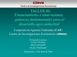 Presentación Taller III