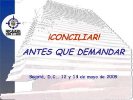CONCILIAR! - Procuraduría General de la Nación