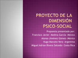 dimension social - itepal-dpj