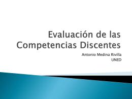 Evaluación de Competencias Docentes