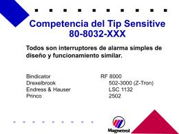 Competencia al 810 Competencia al 810 (acont.)