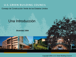 Beneficios Económicos - US Green Building Council