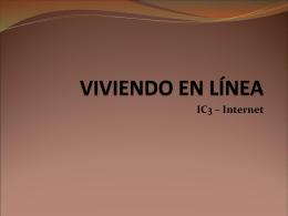 VIVIENDO EN LÍNEA - certificacionic3