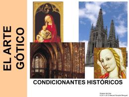 el arte gótico COMO EXPRESIÓN DE LA CULTURA URBANA