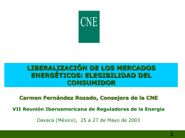 2. Organización mercado energético español