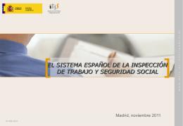 el sistema español de la inspección de trabajo y seguridad social 22