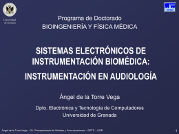 sistemas_electronicos_instr - Departamento de Teoría de la