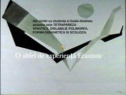 O altfel de experienta Erasmus. Mobilitatea SMS