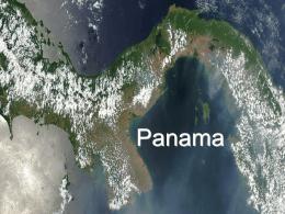 Slide 1 - Panamaproject