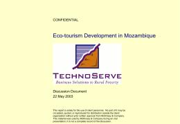 Eco-Tourism Power Point Presentation, Part II