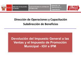 Dirección de Operaciones y Capacitación
