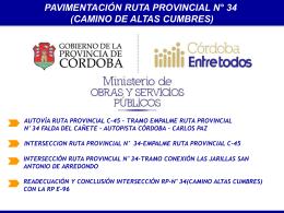 Altas Cumbres 1 - Gobierno de la Provincia de Córdoba