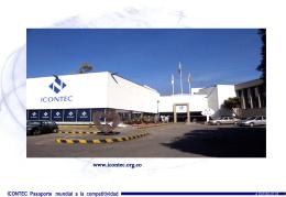 ICONTEC Pasaporte mundial a la competitividad
