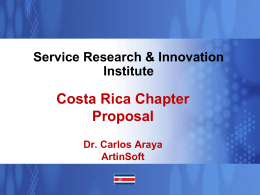 Service Research & Innovation Institute (SRII) Next
