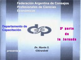 Creditos por Ventas - Consejo Profesional de Ciencias Economicas