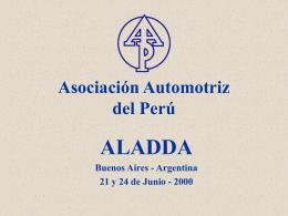 ASOCIACION AUTOMOTRIZ DEL PERU