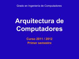 AC iNGENIERIA COMPUTADORES - Departamento de Informática