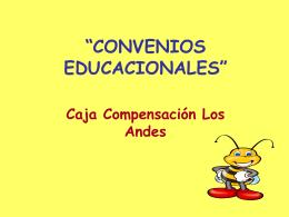 Convenios Educaciona..