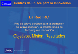 La Red IRC - Servicio Unión Europea