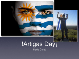 !Artigas Day¡