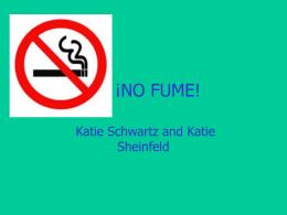 NO FUME!