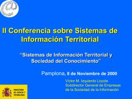 Sistemas de Información Territorial y Sociedad del