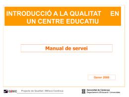 El Manual de Servei.