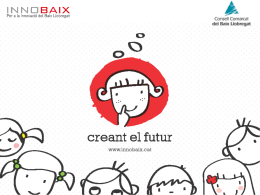 Diapositiva 1 - Engega el Baix Llobregat