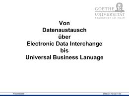 Datenbanken und Internet
