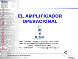 López - Instituto Universitario de Microelectrónica Aplicada