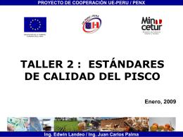 Taller Comex - Pisco Victoria de los Sanchez