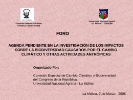 Agenda pendiente en - Congreso de la República del Perú