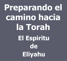 Preparing the Way of Torah