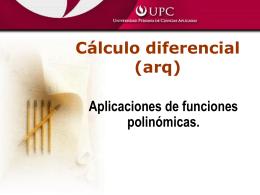 Aplicaciones de funciones polinómicas