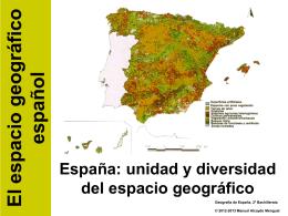 Tema 1a. España: unidad y diversidad del - Historia
