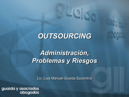 Descargar en formato Powerpoint Outsourcing