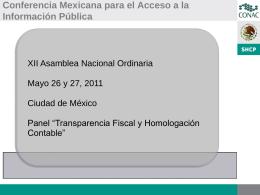 Conferencia Mexicana para el Acceso a la Información Pública