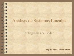 Diagrama de Bode en Magnitud y Fase. Puntos críticos reales.